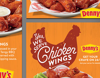 Denny's – Franchisee Internal Promo Designs