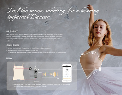 Feel the music vibrting for a hearingimpaired Dancer