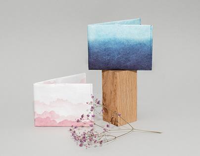 Paprcuts wallet graphic design