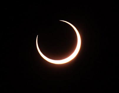 Annular Eclipse in Northern Quebec
