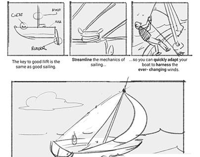 Web Content through Comics: Mockup