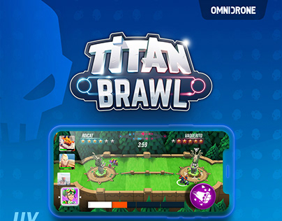 Titan Brawl - UI assets for a Mobile game