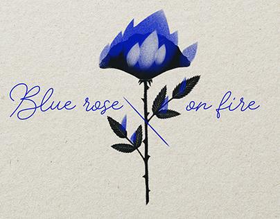 Blue Rose - Illustration