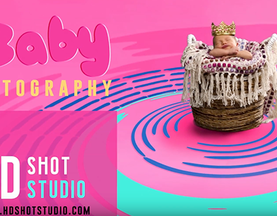 Baby Photography Ad, Motion Graphics
