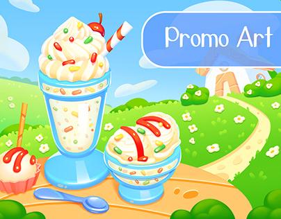 Promo Art - Ice cream on a summer day