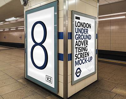London Underground Ad Screen Mock-Ups 15