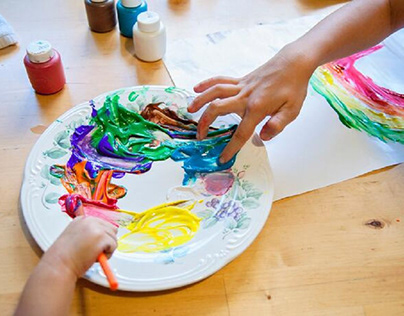 Arts and crafts can build a child's confidence