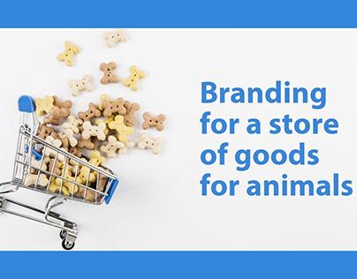 Pet shop branding