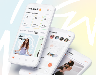 Fittest - Showcase of Fitness Application