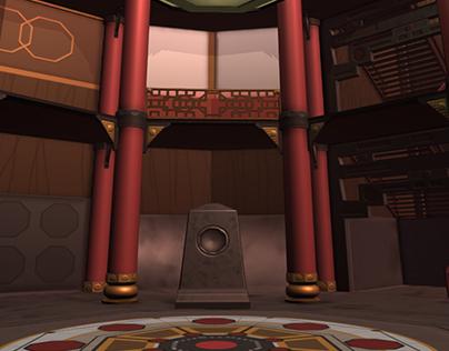 Crimson Tower Game Environment