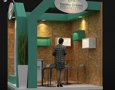 DERMA DREAM - EXHIBITION DESIGN