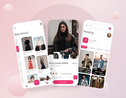 Trending Ecommerce Mobile App UI Design