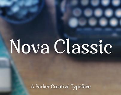Nova Classic - Stylish Font