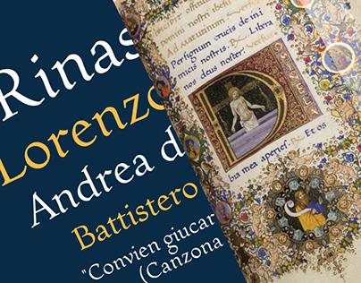 Magnifico: Font dal Libro d'Ore di Lorenzo de' Medici