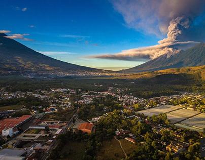 Guatemala land of impressive volcano landscapes 🌋⛰️