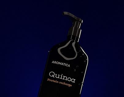 Shampoo 3d visualisation