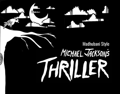 Michael Jackson's Thriller Madhubani Style| Storyboard