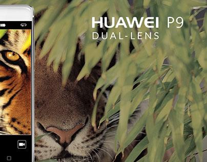 HUAWEI P9 ads