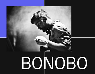Bonobo - New website