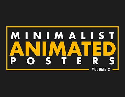 minimalist animated posters vol.2