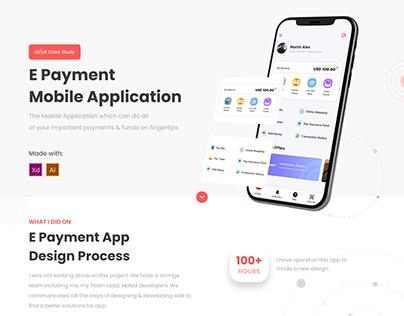 E Wallet - Payment App