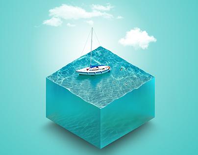Isometric Ocean