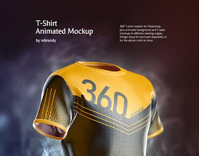 T-Shirt Animated Mockup