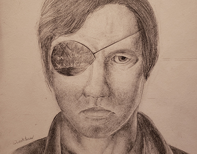 The Walking Dead Fan Art: The Governor