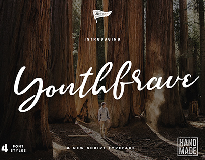 Brave Youth Script Typeface