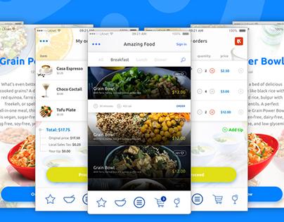 SmartCafe | Mobile Ordering App