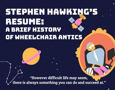 Stephen Hawking Infographic