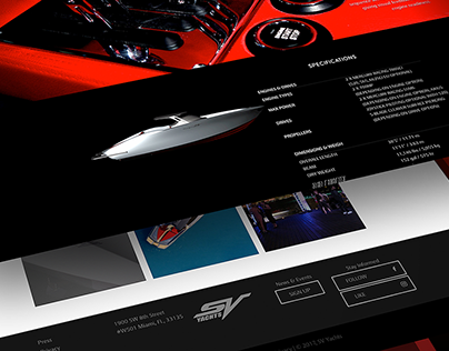 Web and Brand Development | SV YACHTS