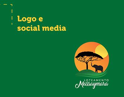 Logo e Social Media - Loteamento Massaymara
