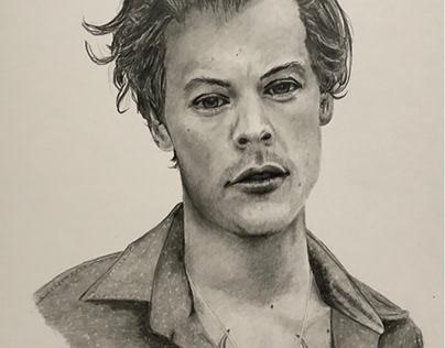 Harry Styles (fan art)
