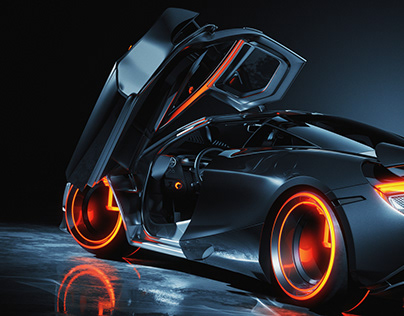 McLaren 720s Light Cycle