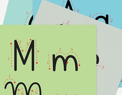 AlfaLetrando - Conhecendo as letras