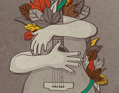 Poster Illustration for Open Music Project