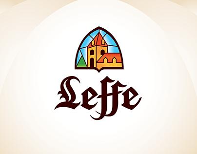 Leffe-  logo adaptation for screen