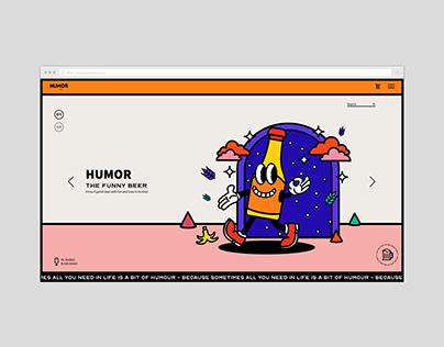 Humor Beer UX/UI