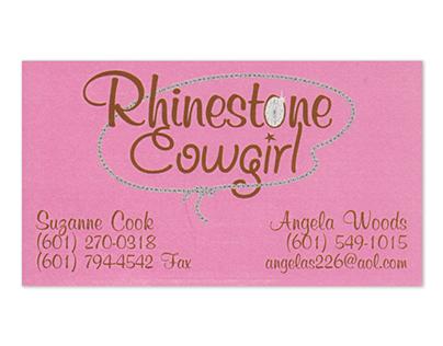 Rhinestone Cowgirl Business Card