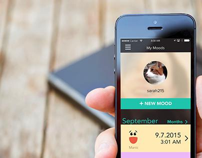 MoodTalk, A Social App for Mood Disorders