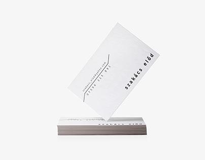 Business Card - Szakacs Elod
