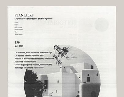 Architecture newspaper Plan Libre