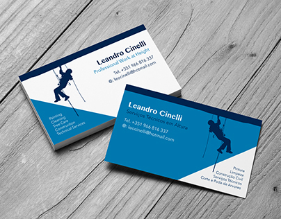 Business card - Professional Work at Height