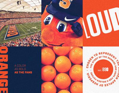 2019 Syracuse Athletics Seasonal Art Direction