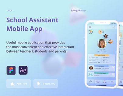 UNI School app   Education   UI/UX