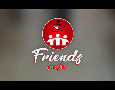Friends Cafe Clip