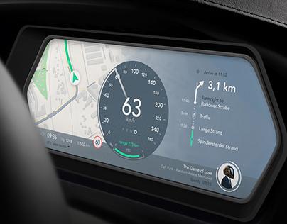 Automotive UI concept