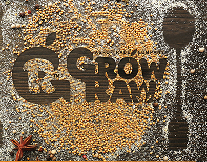 Grow Raw – Logotype & Brandig