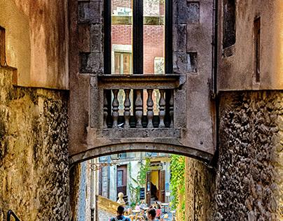 Ascent of Sant Domenec - Girona - Catalonia